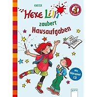 Hexe Lilli zaubert Hausaufgaben: Der Bücherbär: Hexe Lilli für Erstleser. Mit Hörspiel-CD