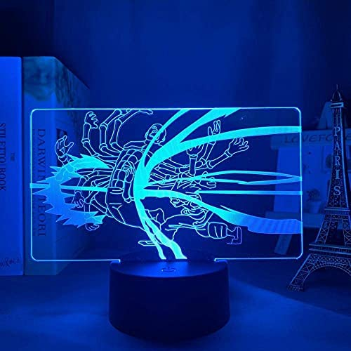 3D Illusie Lamp Anime Hunter X Hunter Gon 3D LED Licht voor Slaapkamer Decor Nachtlampje Slaapkamer Tafellamp Verjaardagscadeau 16 Kleuren