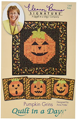 Eleanor Burns Pumpkin Grins Pattern by Quilt in a ()