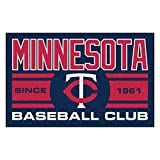 FANMATS 18475 Minnesota Twins Baseball Club Starter Rug