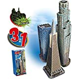 Wrebbit / Puzz3D 3D West Coast Trio Puzzle