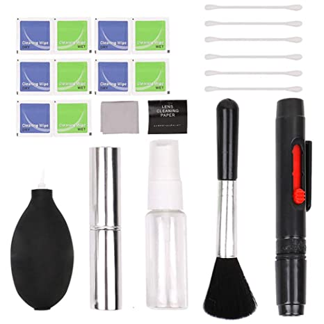 TOPTOO Conceptos básicos Kit de Limpieza para cámaras DSLR y ...