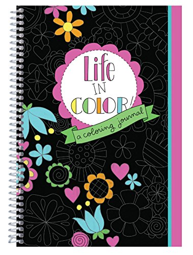 Life In Color - A Coloring - Journal Color