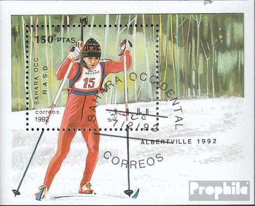 Sahara Issue The Government in Exile Without Validity in International. Postal 1992 Olympics Winter Games ´92 (Stamps for Collectors) Winter Sports