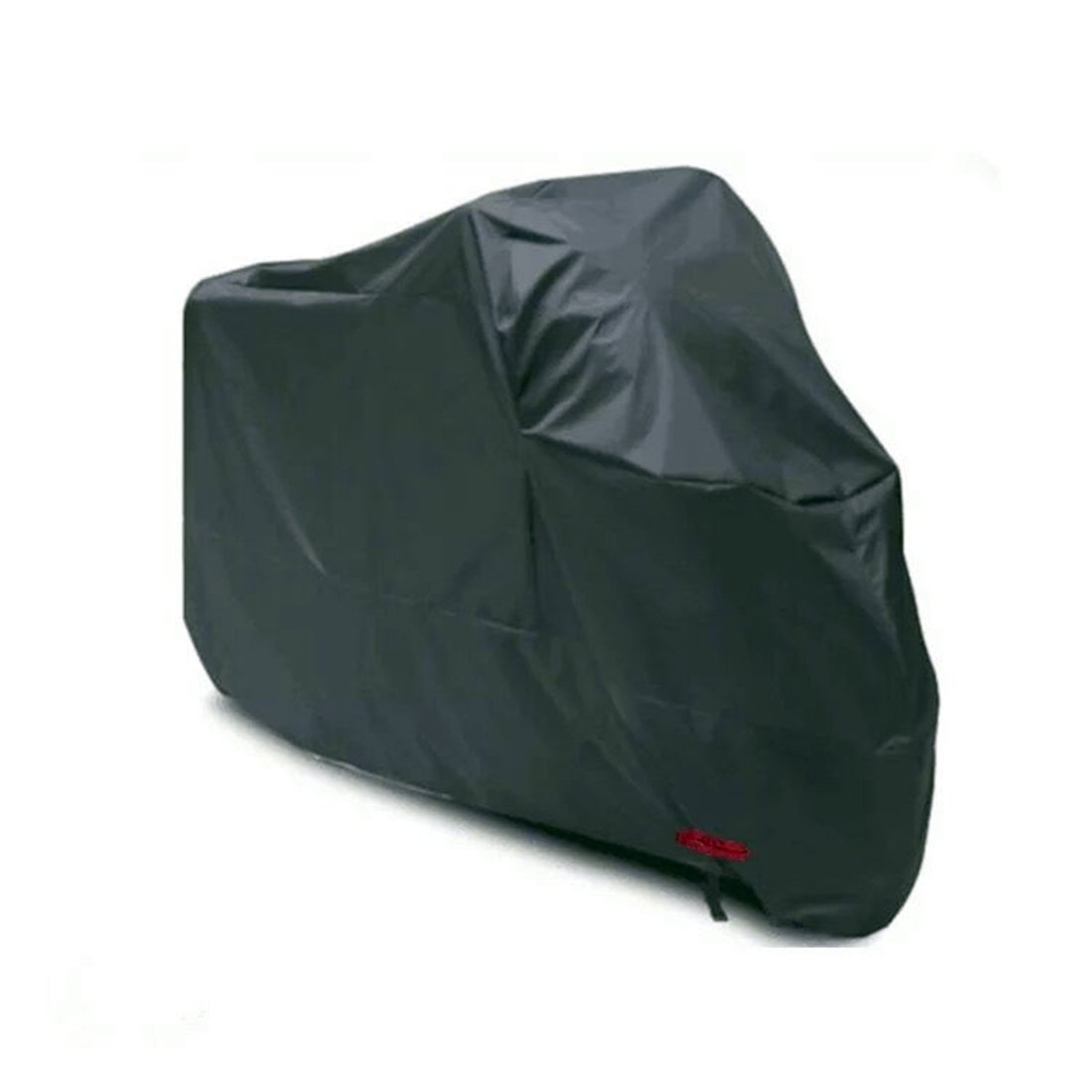 FLM Motorcycle Cover - Heavy Duty 190T Nylon Waterproof Motorbike Cover Anti Dust Rain UV Indoor Outdoor Protective Breathable Cover with Lock-holes, Storage Bag, XL fuluomei
