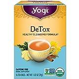 Yogi Herbal Tea Bags, Detox 16 ea ( pack of 2)