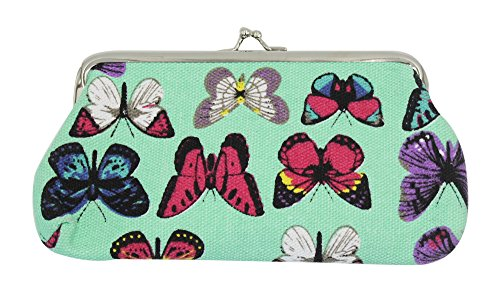Aibearty Women Cloth Coin Purse Wallet Butterfly Printed Clutch Handbag Gift from Aibearty