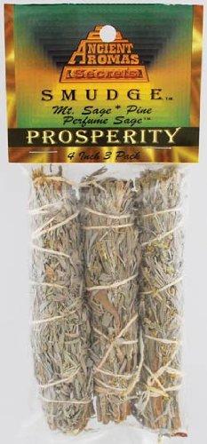 Prosperity Smudge Stick 3 - Pack B007BIUEQO
