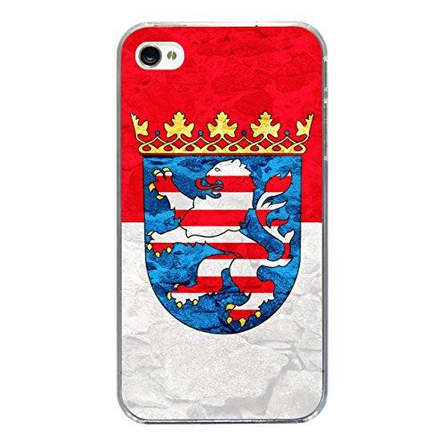 "Disagu Design Case Schutzhülle für Apple iPhone 4s Hülle Cover - Motiv ""Hessen"""