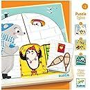 Djeco DJ01485 3 Layer Puzzle- Igloo Puzzle