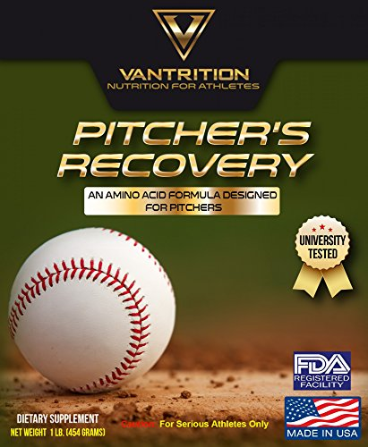 Vantrition Pitcher's Recovery Proprietary Blend | Advanced Amino Acid Formula Designed For Baseball Pitchers | Improve Tendon Health (1 LB, Fresh Watermelon)
