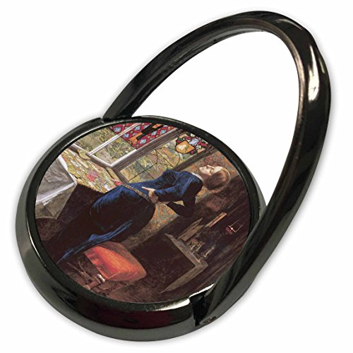 3dRose BLN Portraits of Women Through Time Fine Art Collection - Mariana by John Everett Millais - Phone Ring (phr_149546_1) from 3dRose
