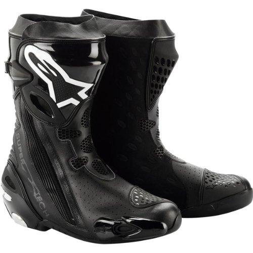 Alpinestars Supertech R Vented Boots 2012 Black US 9.5 EU 44