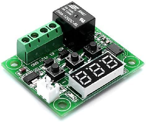12 V, con sensor, pantalla y rel/é ThingMatic Termostato digital