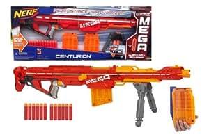 Nerf N-Strike Elite Centurion Blaster BONUS PACK 2 CLIPS & 12 MEGA DARTS
