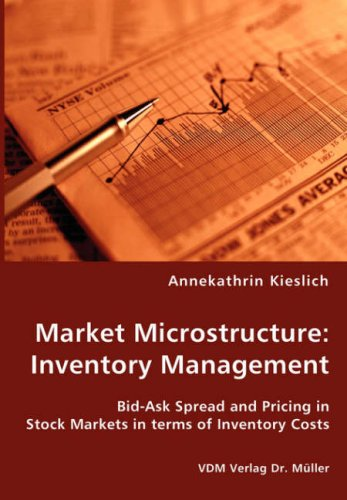 Market Microstructure: Inventory Management - Bid-ask Spread and Pricing in Stock Markets in Terms of Inventory Costs
