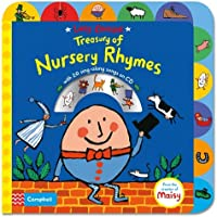 Lucy Cousins Treasury of Nursery Rhymes Book and CD: Big Book of Nursery Rhymes and CD