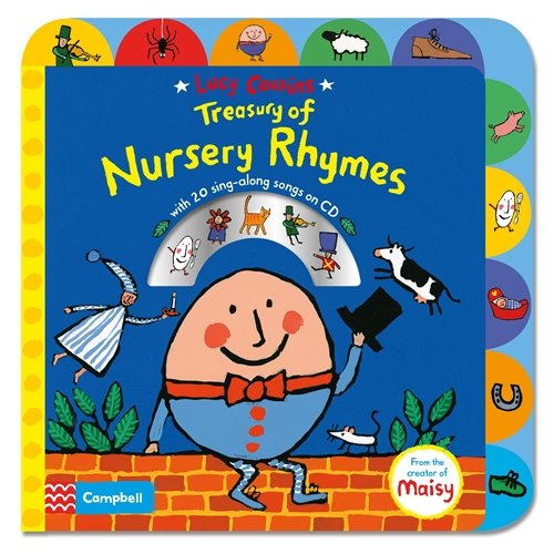 Rhymes Nursery Sing - Lucy Cousins Treasury of Nursery Rhymes: Big Book of Nursery Rhymes and CD
