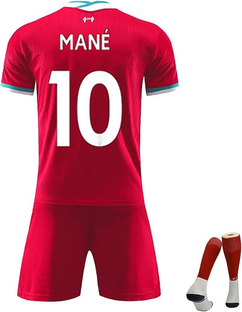 Uniform Sport Kit Uniforme di Calcio Liverpool 2020-2021 casa ...
