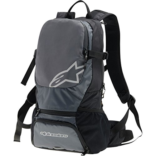 Alpinestars Faster Back Pack, One Size, Black Steel (Alpinestars Backpack)