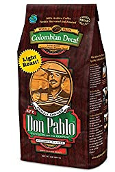 Image of the product 2LB Cafe Don Pablo Light Roast Decaf Swiss Water P that is listed on the catalogue brand of Cafe Don Pablo.