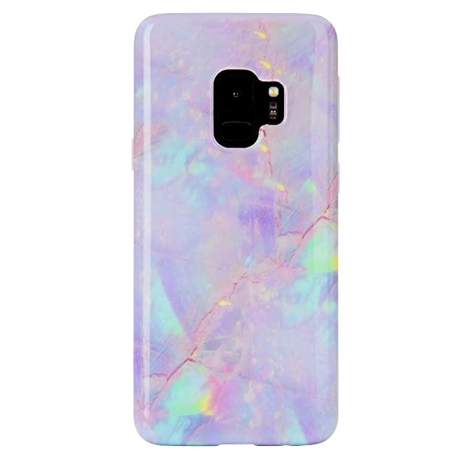 premium selection d6f13 9d20a Pink Marble Samsung Galaxy S9 Case - Premium Protective Cover - Cute Phone  Cases for Girls & Women [Drop Test Certified]