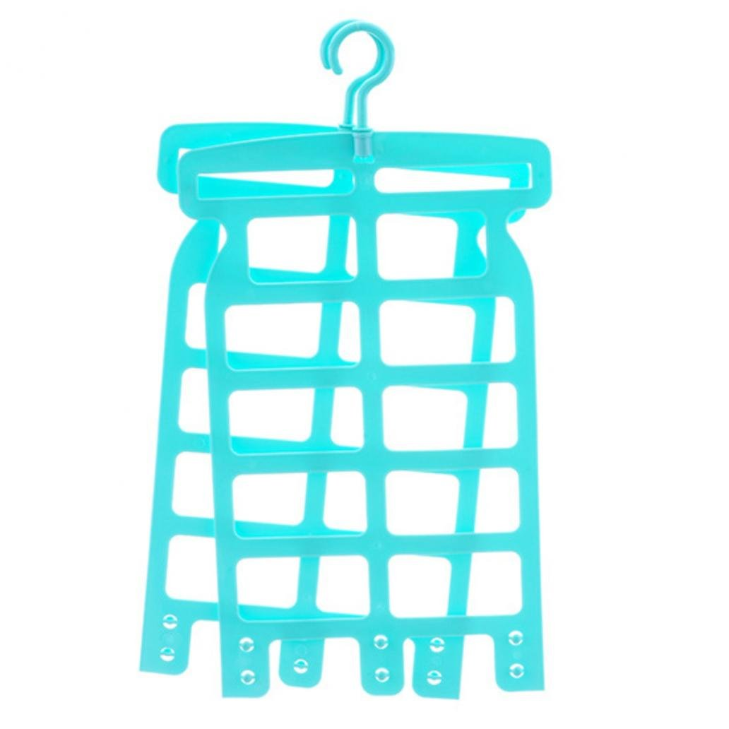Blue Taiguang Multiuse Pillow Doll Laundry Stuffed Toy Drying Holder Hook Hanger Rack