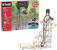 K'NEX Thrill Rides – Twisted Lizard Roller Coaster Building Set with Ride It! App – 403Piece – Ages 7-12 y