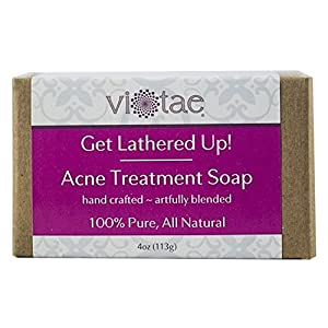Vi-Tae Organic Acne Treatment Soap, 4 oz.