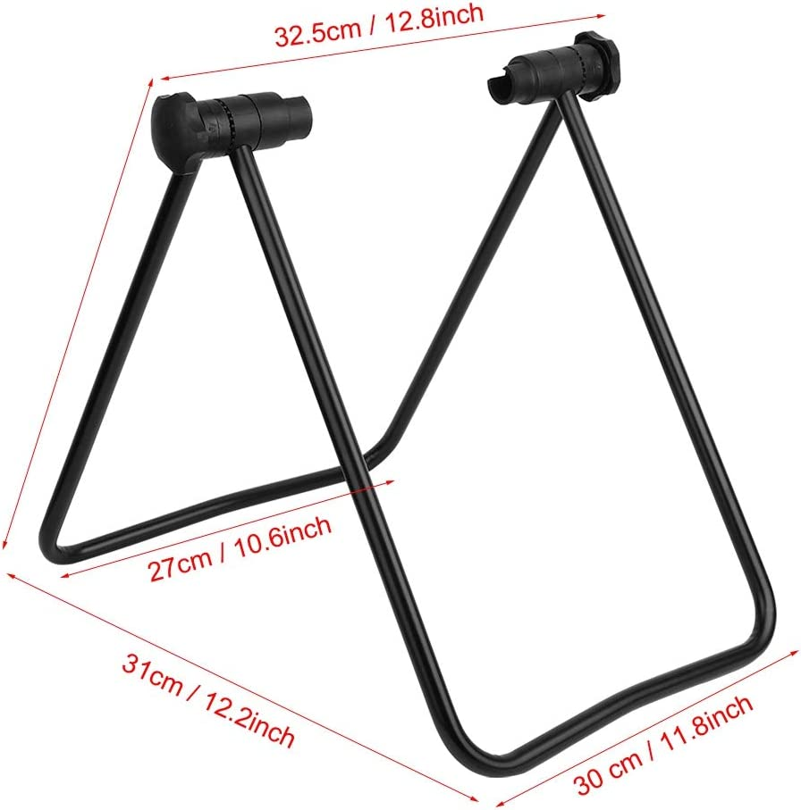 Racing Bicycle Bicycles and Folding Bicycle Bike Repair Stand Rack Kick Stand Parking Stand Holder for Mountain Bike VGEBY Foldable Bicycle Stand