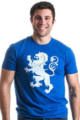 Scottish Lion & Saltire | Scottish Pride Vintage Style Retro-Feel Unisex T-shirt