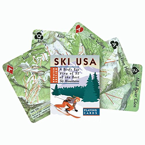(Ski Usa Playing Cards)