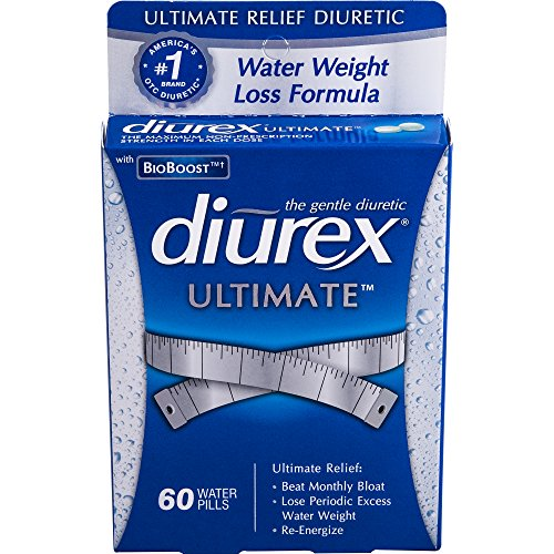 Diurex Ultimate Diuretic Water Caplet, 60 Count by Diurex