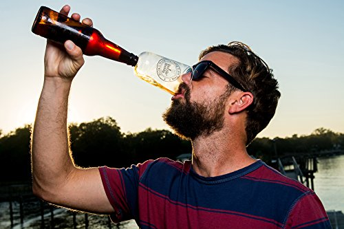 Guzzle Buddy Beer Bottle Glass, It Turns Your Bottle Into Your Glass, As seen on Shark Tank by Guzzle Buddy (Image #2)