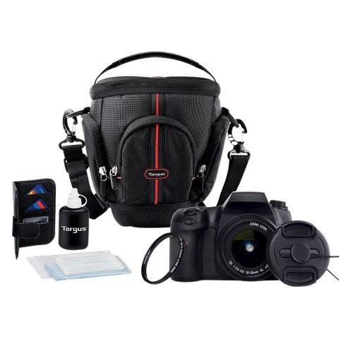 Targus DSLR Starter Kit Essential Camera Acessories, 7-piece Deluxe Set