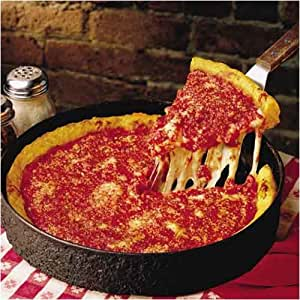 Chicago Deep Dish Pizza - Gino's East Deep Dish Pizzas