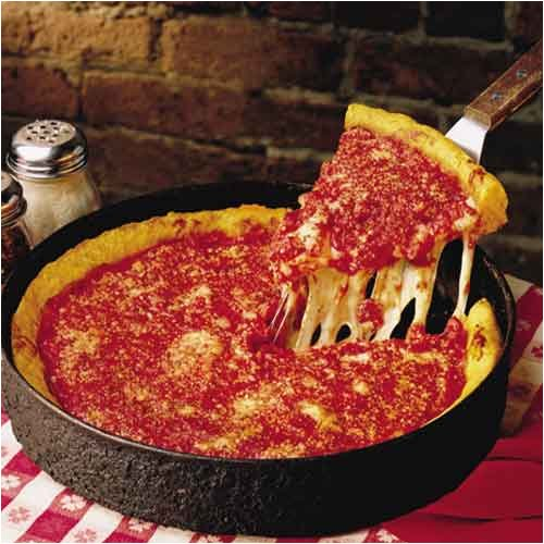 Chicago Deep Dish Pizza Ginos East Deep Dish Pizzas Amazoncom