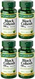 Black Cohosh 540 mg, 100 Capsules (4 Bottles) Nature's-aO