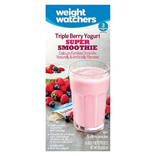 Weight Watchers Triple Berry Yogurt Super Smoothie