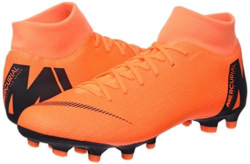 Mercurial Academy Nike Homme Mg Chaussures Pour De Vi Orange Superfly Noir Football Hwxxqa4dp