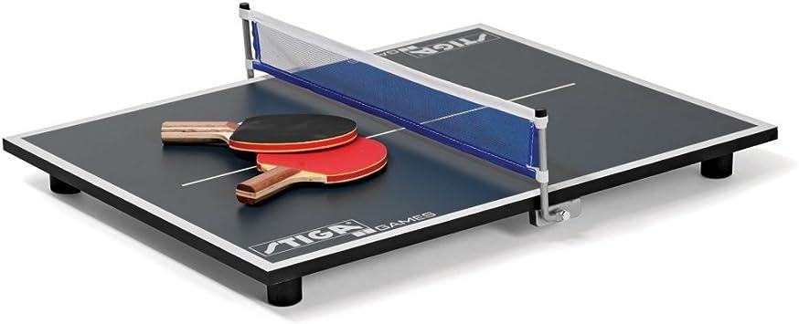 Stiga Super Mini Mesa de Ping Pong: Amazon.es: Deportes y aire libre