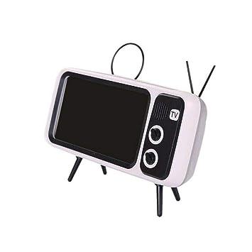 Mini Altavoz portátil Bluetooth, diseño Retro de TV para el hogar ...