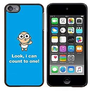 """Be-Star Único Patrón Plástico Duro Fundas Cover Cubre Hard Case Cover Para iPod Touch 6 ( Divertido Mensaje bebé Texto Madre Mamá"""" )"""