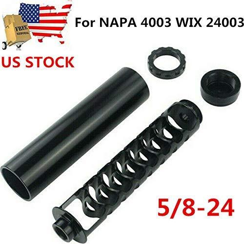 Asseny Spirale 5//8-24 Simple Coeur Filtre /à Carburant pour Napa 4003 WIX 24003 Voiture Solvant