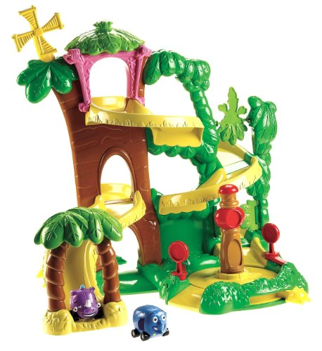 Fisher-Price World of Jungle Junction Roadway Playset
