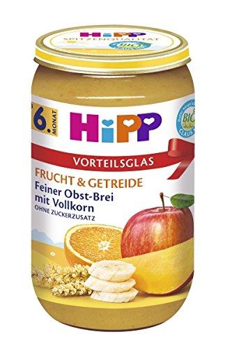 Hipp Frucht und Getreide