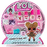 L.O.L. Surprise Confetti Nail Art by Horizon Group USA