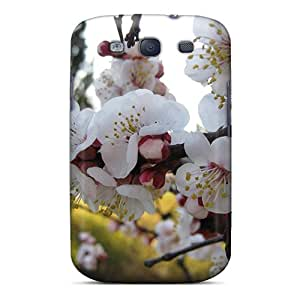 ScoDBke Case Cover For Galaxy S3 - Retailer Packaging Almond Flowers Protective Case