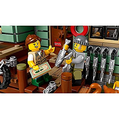 LEGO Ideas Old Fishing Store (21310) - Building Toy and Popular Gift for Fans of LEGO Sets and The Outdoors (2049 Pieces): Toys & Games