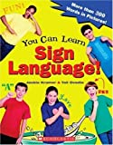 img - for You Can Learn Sign Language! by Jackie Kramer (2004-02-01) book / textbook / text book